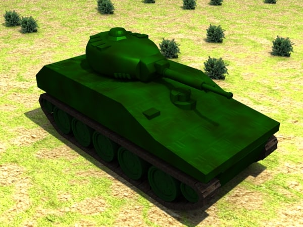 army tank 3ds