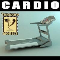 3d model cardio machine