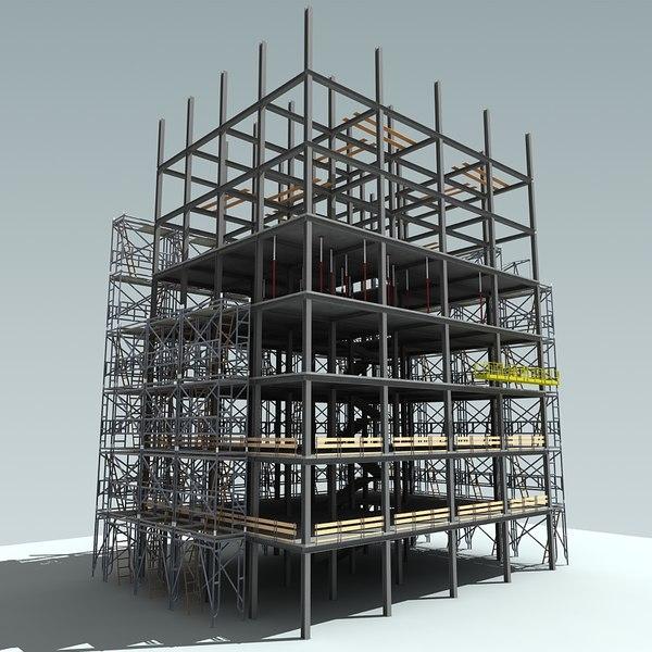 construction crane 3ds