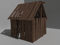 3d model outbuilding building