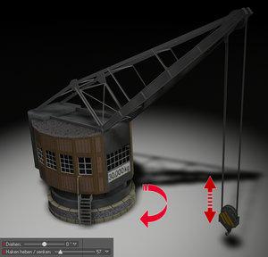 old crane c4d