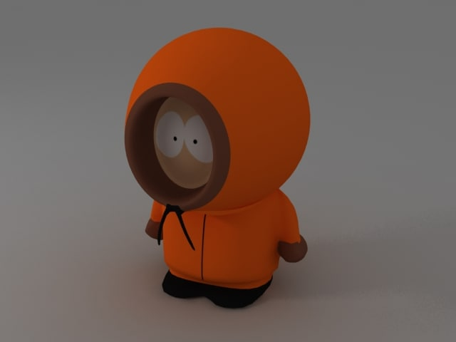 3ds max kenny mccormick south park