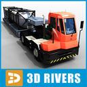 port truck 3D models