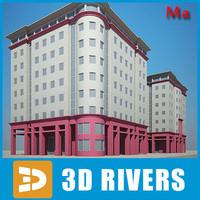 x apartment building house 14