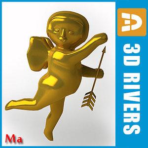 maya gold cupid 01
