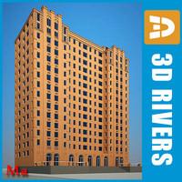 3d building house 17