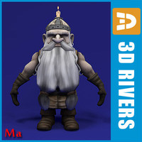 fairy dwarf 3d model