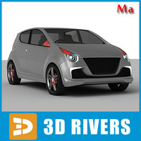 Suzuki A Star v1 by 3DRivers