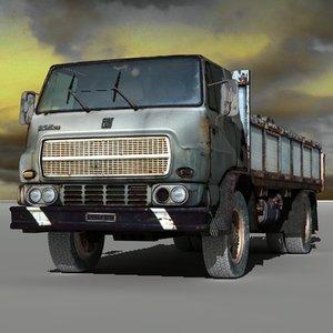 old truck 3d c4d