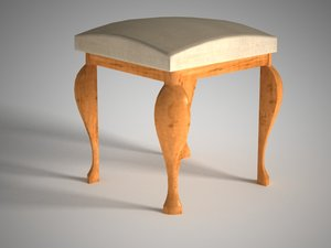 3d furniture rustic model