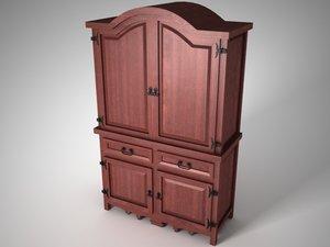 furniture rustic 3d max