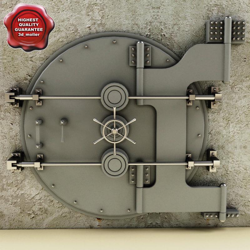 bank vault 3d lwo