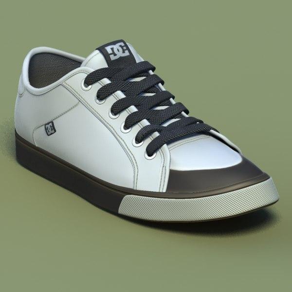 excellent sports shoes 01 3d model