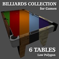 billiards tables pool 3ds