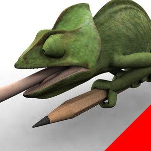 chameleon 3d max