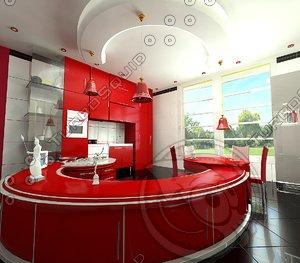 max crimsone kitchen design