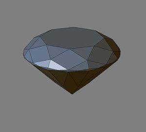 3d cut diamond