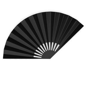 hand fan 3d model