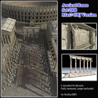 3ds max ancient buildings