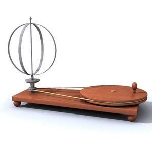 mechanics centrifugal 3d model