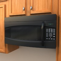 microwave 3d max