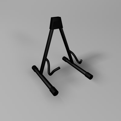3ds max guitar stand morgan
