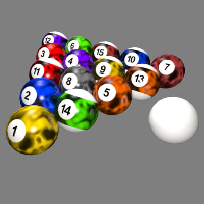 Billiard Balls Customized
