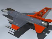 usaf target drone 3d model