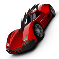 3d model of carmageddon red eagle