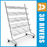 max chrome shoe rack