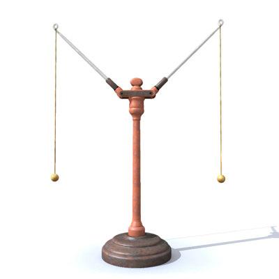 electrostatic meter 3d obj