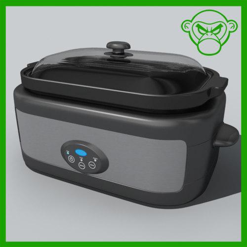 3d model slow cooker