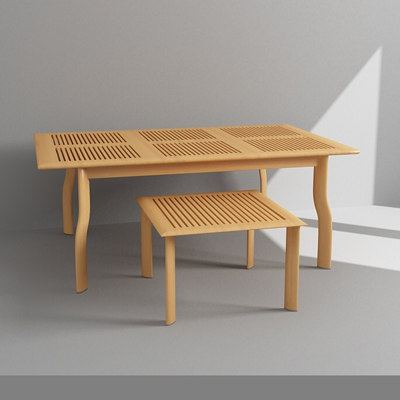 dining coffee table 3d max