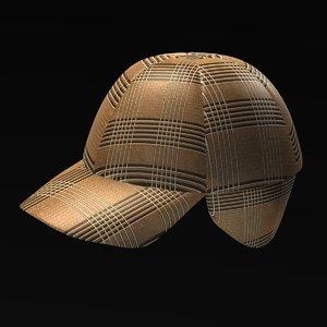 hat winter 3d model