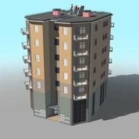 building 03 3d model