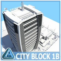 dxf city block