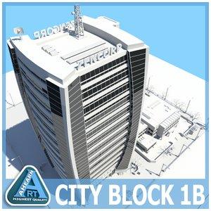 dxf city block