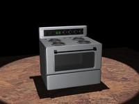 kitchen stove 3d model