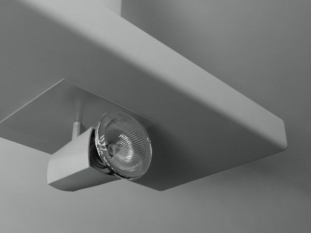 3d model lamp light lampara