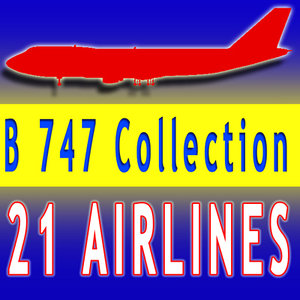 b 747 3d max