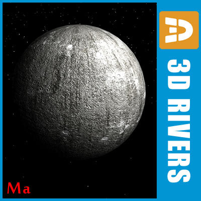 photoreal mercury planets x