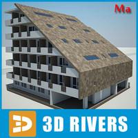 3dsmax building house 12