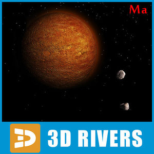 3d photoreal mars