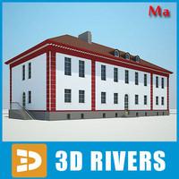building house 19 3d fbx