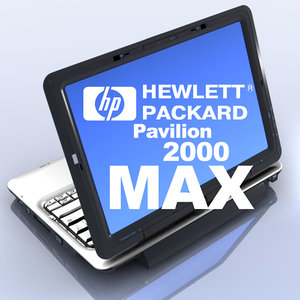 3d notebook pavilion 2000 hp