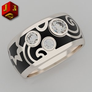 gold jewellery designer 3d 3ds