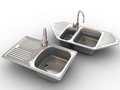 free sinks 3d model