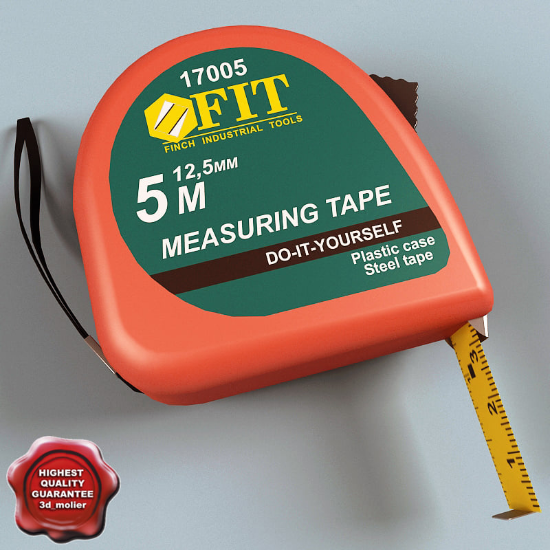 tape measure 3ds