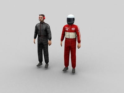 pitcrew pitman 3d max