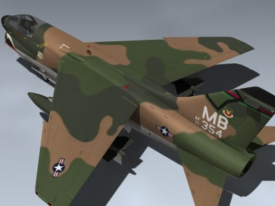 3d a-7d corsair ii sea